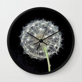 Dandelion flower Wall Clock