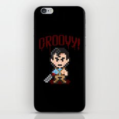 Evil Dead Pixels iPhone & iPod Skin