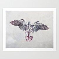 dead Art Prints featuring Dead Things by MizEnScen