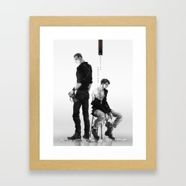 Cherik: Cannot be Contained in Words Framed Art Print