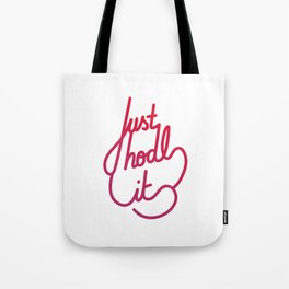 Just hodl it   [gradient] Tote Bag