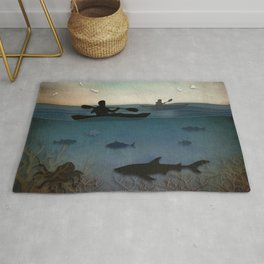 Sea Kayaking Rug