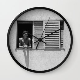 A Window to the world Wall Clock