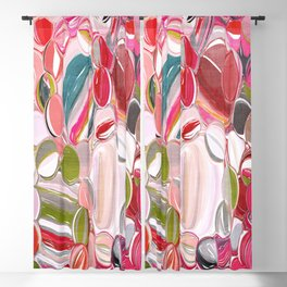 Beach Balls - Colorful Abstract Blackout Curtain