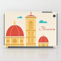 florence iPad Cases featuring Florence by Marina Design
