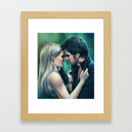 Couldn't Handle It Framed Art Print