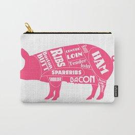 Pork Butcher's Diagram Carry-All Pouch