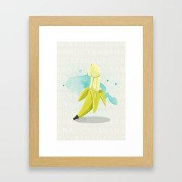 Banana Dick Framed Art Print