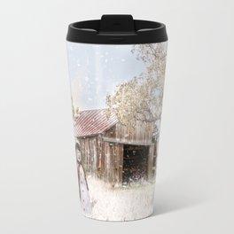 Farmstyle Snowman Travel Mug