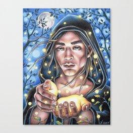 Firefly Fairy Canvas Print