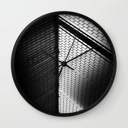 i am pixels Wall Clock