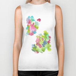 180802 Beautiful Rejection  3| Colorful Abstract Biker Tank
