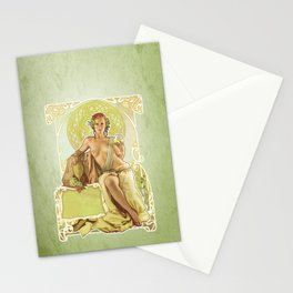 Noveau Stationery Cards