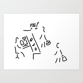 buy supermarket Art Print