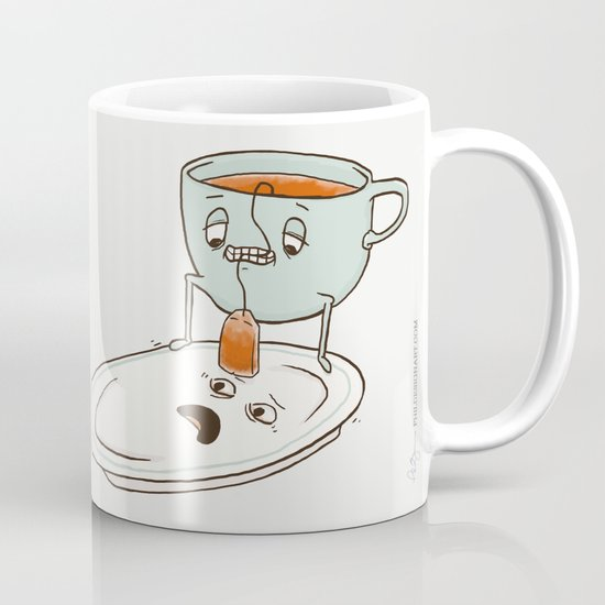 Tea Baggin 39 Coffee Mug By Phil Jones Society6