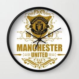 mu fc red devil Wall Clock