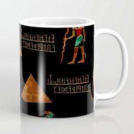Ancient Secrets THOTH 3D Scifi Egyptian Coffee Mug