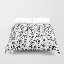 DALMATIAN / pattern pattern Duvet Cover