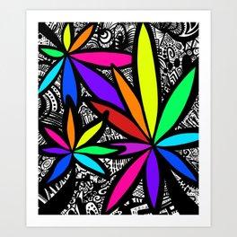 Lush Art Print