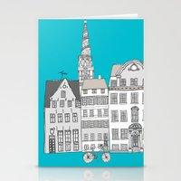 copenhagen Stationery Cards featuring Copenhagen by helena carrington
