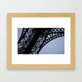 Eiffel Tower - Detail Framed Art Print
