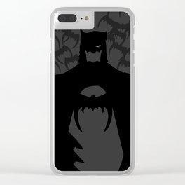 Darkknight Clear iPhone Case