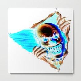 Evil Clown Metal Print