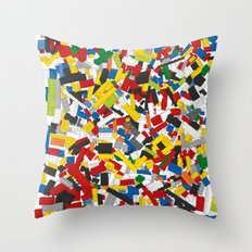 The Lego Movie Throw Pillow