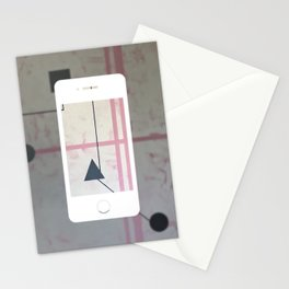 Sum Shape - iPhone graphic Stationery Cards