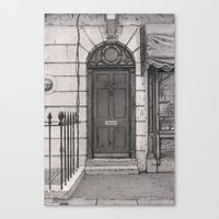 221b Canvas Prints featuring 221b by v0ff