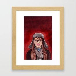 Mon Amie Framed Art Print