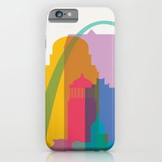Shapes of St. Louis. Accurate to scale iPhone 6s Slim Case