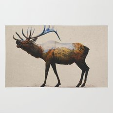 The Rocky Mountain Elk Rug