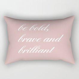 be bold IV Rectangular Pillow