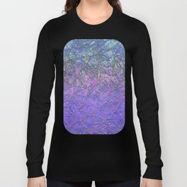 Sparkley Grunge Relief Background G181 Long Sleeve T-shirt