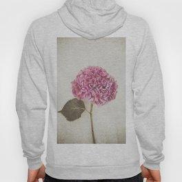 Beautiful Pink Hydrangea Hoody
