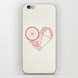Love Bike iPhone Skin