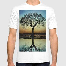 Tree Silhouette Design 178 T-shirt
