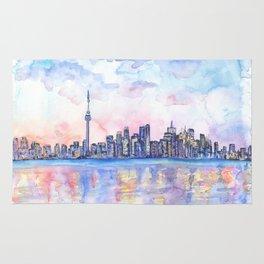 Toronto Skyline Rug
