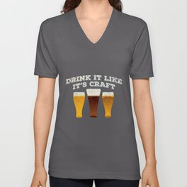 Craft Beer Quote | Brewer Homebrewing Pale Ale Unisex V-Neck