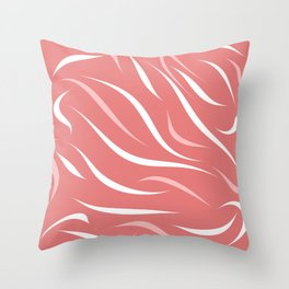 Coral of my dreams Throw Pillow