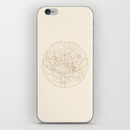 Visible Heavens - Gold iPhone Skin