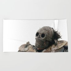 Skeletron Turbo Kid Beach Towel