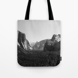 Tunnel View, Yosemite National Park III Tote Bag