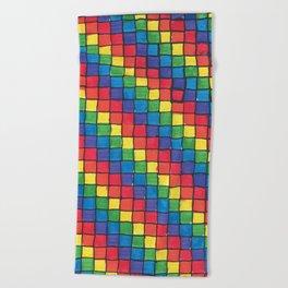 Pixel Spectrum by Sunny Beach Towel
