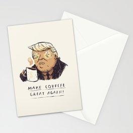 make covfefe great again! trump print Stationery Cards