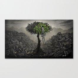 Memories of Green Canvas Print
