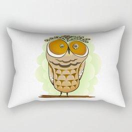 Crazy Owl Rectangular Pillow