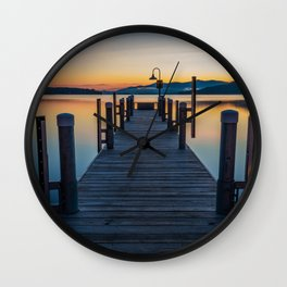 Lake George Wall Clock