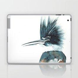Kingfisher Watercolour Portrait Laptop & iPad Skin